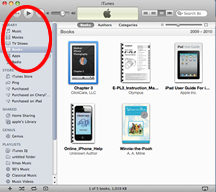 ITunes for iBooks
